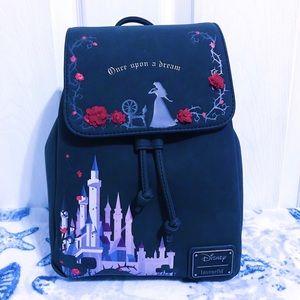 NWT 🥀 Loungefly Sleeping Beauty Backpack